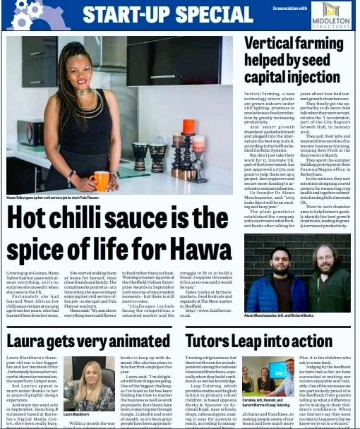 Fula Flavour Hits the Headlines