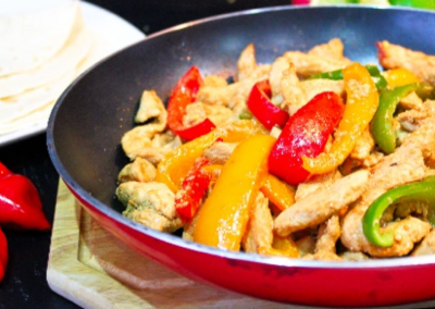 Chicken & Peppers Dish
